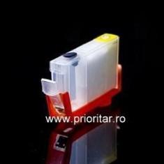 Cartuse autoresetabile compatibil cu CANON CLI-8-BK reincarcabile refilabile (...