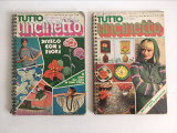 Tutto Uncinetto - 2 nr. revista de crosetat, lb. italiana, anii 70