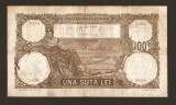 ROMANIA 100 LEI - MAI 1930 . Prima data de emisie cu aceasta culoare. Rara !!