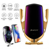 Suport Auto WIRELESS Fast Charge,NOU! Samsung Iphone Huawei orice
