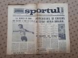 Ziarul SPORTUL ×  1 IULIE 1968