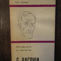 INTRODUCERE IN OPERA LUI G.BACOVIA-DINU FLAMAND
