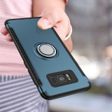 Husa hibrid pentru Samsung Galaxy NOTE 9 (2018) cu inel incorporat, Albastru