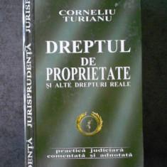 CORNELIU TURIANU - DREPTUL DE PROPRIETATE