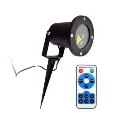 Proiector Laser LED Model Star Motion Shower cu Efecte de Lumini Miscatoare si Telecomanda, 3D Ambiental Interior/Exterior foto