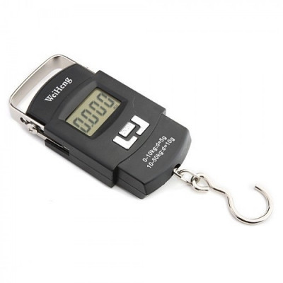 Cantar electronic Digital Portabil Capacitate 50kg pe Baterii foto