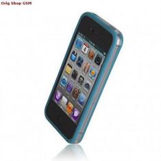 Husa Bumper Plastic Samsung S7560/S7580 Albastru