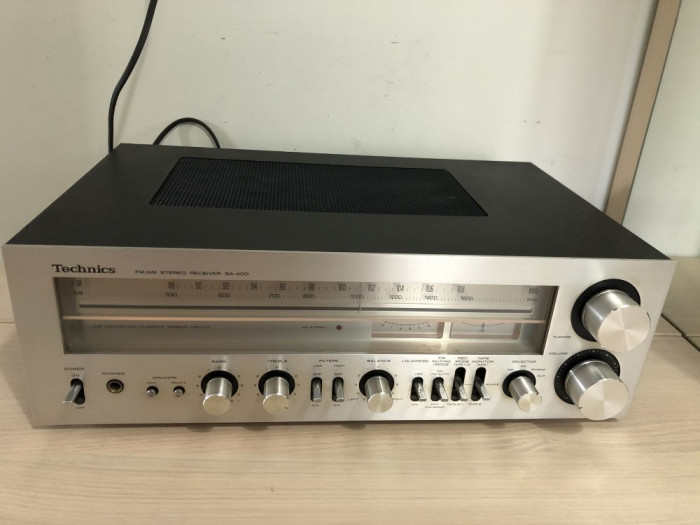Vand Amplituner Technics SA-400 Receiver FM/AM Amplificator Stereo 45W