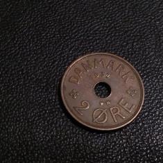 Monedă 2 ore 1937 Danemarca