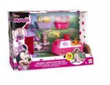 Set figurine Minnie Mouse - Biroul pe roti al lui Minnie