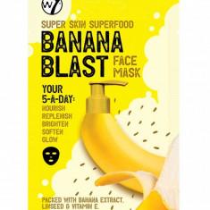 Masca hranitoare W7 Super Skin Superfood Banana Blast Face Mask 18 g