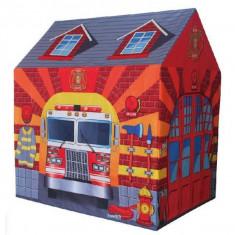 Cort de joaca statie de pompieri Ecotoys