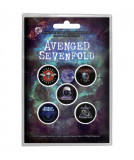 Set Insigne Avenged Sevenfold: The Stage