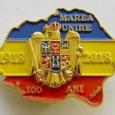 INSIGNA CENTENARUL MARII UNIRI 1918 2018