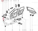 Obturator capota Renault Kangoo, Clio 1 , Dop Original7703074443