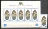 San Marino.1977 100 ani marca postala  SS.27