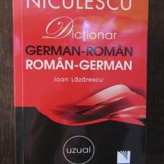 Dictionar german-roman/roman-german: uzual de Ioan Lazarescu