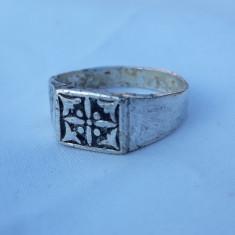 INEL argint SIGILAR simbol CELTIC vechi RAR executat manual VINTAGE de colectie