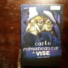carte romaneasca de vise  talmaciri traditionale