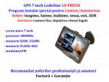 """Navigatie GPS GiPieS 7""""HD+Parasolar Harti 2020 Europa+Romania setari TIR/Camion"""
