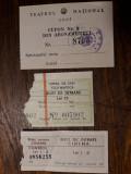 CLUJUL VECHI - CUPON ABONAMENT TEATRUL NATIONAL - BILET OPERA - BILET CINEMA
