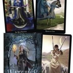 Witches Tarot-Carti Tarot ENGLEZA,imagini superbe+guidebook pdf- LIVRARE IMEDIAT