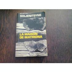 LA MAISON DE MATRION - SOLJENITSYNE