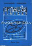 Cumpara ieftin Optimizari Liniare - Vasile Diaconita, Gheorghe Rusu
