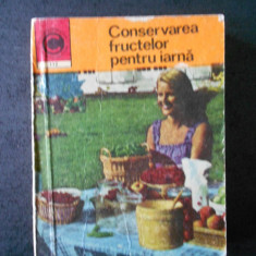 NATALIA TAUTU STANESCU - CONSERVAREA FRUCTELOR PENTRU IARNA