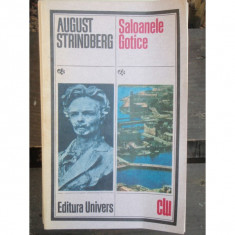 SALOANELE GOTICE - AUGUST STRINDBERG