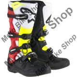 MBS Cizme motocross Alpinestars Tech 5, negru/rosu/galben, 10=44.5, Cod Produs: 34101539PE