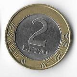 Moneda 2 litai 2001 - Lituania