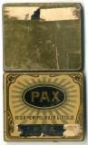 Cutie metalica 10 Tigarete PAX 70 bani Pacea din Bucuresti 28 iulie 1913 Tigari