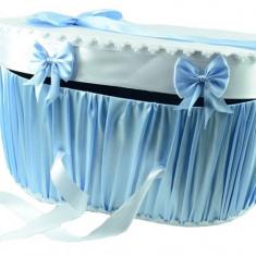 Cutie eleganta pentru botez CEB3A, Albastru