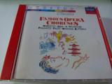 Famous opera choruses 4007, CD