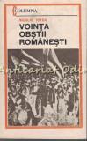 Cumpara ieftin Vointa Obstii Romanesti - Nicolae Iorga