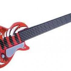 Chitara electrica de jucarie cu sunete si lumini