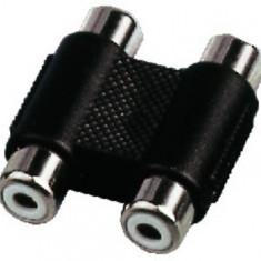 Adaptor 2 x RCA mama - 2 x RCA mama Monacor NTA-102