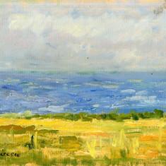Aurelia Aricescu Vasiliu - Marina - Ulei pe Carton 40/30 cm