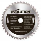 Cumpara ieftin Disc pentru fierastrau circular, taiere lemn Evolution EVOEVOBLADE230WD-0484, O230x25.4 mm, 40 dinti