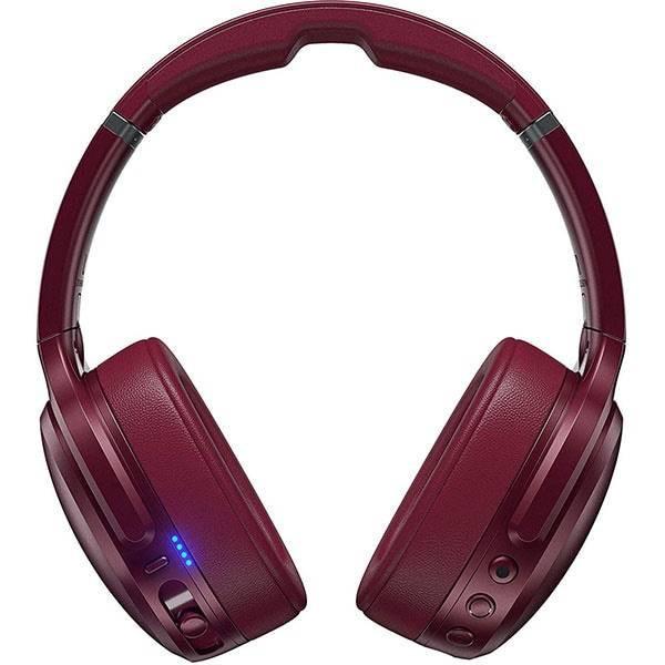 Casti Wireless SKULLCANDY Crusher ANC BT Red