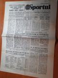 sportul 30 noiembrie 1981-col camataru si u.craiova este pe primul loc