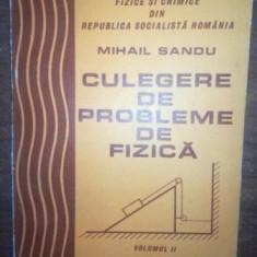 Culegere de probleme de fizica vol 2- Mihail Sandu