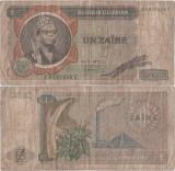 1975 ( 20 V ) , 1 zaïre ( P-18a.3 ) - Zair
