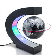 Glob Pamantesc Plutitor, Suport Cu Lumini Colorate