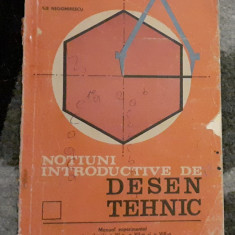 Manual Notiuni introductive de desen tehnic, 1990