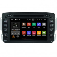 """Unitate Multimedia cu Navigatie GPS, Touchscreen HD 7"""" Inch, Android 7.1, Wi-Fi, 2GB DDR3, Mercedes C-Class W203 2000-2005 + Cadou Soft si Harti GPS"""