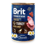 Brit Premium by Nature Junior Dogs, Turkey with Liver, 800 g
