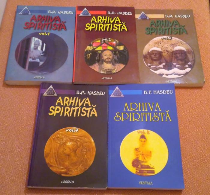 Arhiva Spiritista. 5 Vol. Editura Vestala 2002-2008 - Bogdan Petriceicu Hasdeu