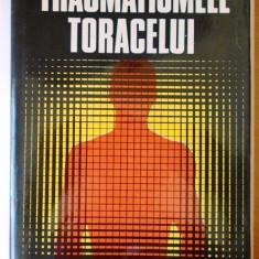 Traumatismele toracelui - Traian Oancea + colectiv, tiraj 1720 ex